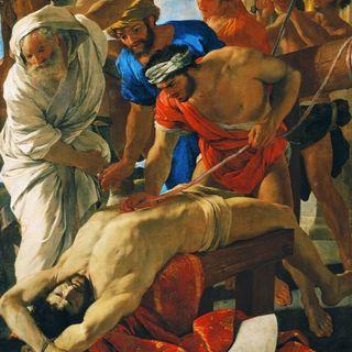 Muzea Watykańskie #9 - Nicolas Poussin - Męczeństwo świętego Erazma