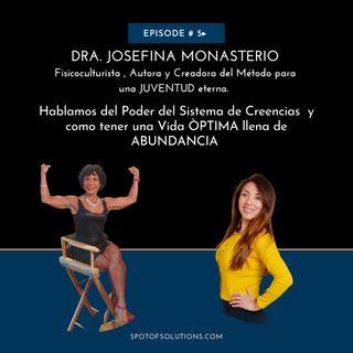 Dra. Josefina Monasterio - Fisicoculturista, Autora, Life Coach E5