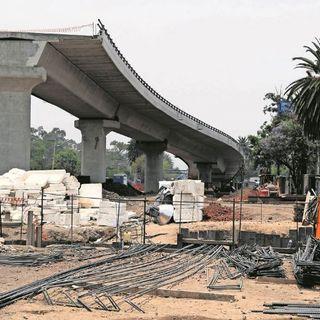 Terminan revisión de viaductos elevados.