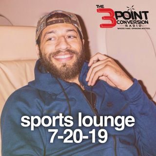 The 3 Point Conversion Sports Lounge- AFC Playoffs Teams Flaws, Royce White Of BIG3 Enemies, Pacquiao vs. Thurman, #MLB