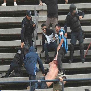 Al menos 33 personas resultaron heridas durante un partido de futbol