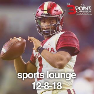 The 3 Point Conversion Sports Lounge- Atlanta United's Pressure On All ATL Teams, Heisman Trophy Sudden Change, Luca to Trae, Brady Too Old