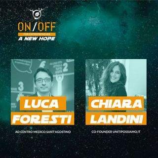 Luca Foresti (Centro Medico Sant'Agostino) e Chiara Landini (Uniti Possiamo)