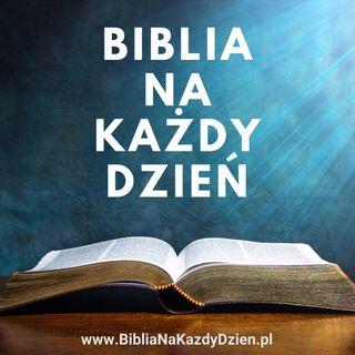 Zaproszenie na nowy kanał - Biblia na każdy dzień