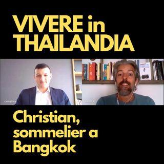 Christian, sommelier a Bangkok