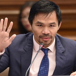 Manny Pacquiao se postula a Presidente de Filipinas