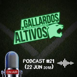 Gallardos y Altivos Mundialista #OperaciónRusa