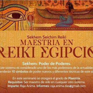 Maestría en Reiki Egipcio en San Cristóbal, Chiapas