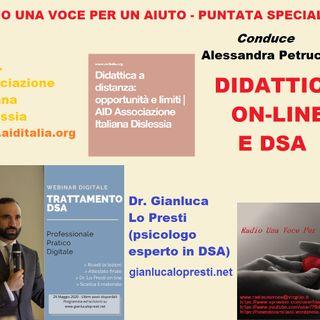 Punt. straordinaria: DIDATTICA ON-LINE E DSA