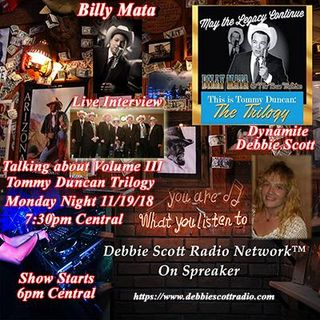 INTERVIEW WITH BILLY MATA !!!    11-19-18