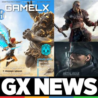 GX News 13 - Assassin's Creed Valhalla, Metal Gear Solid, Premios PlayStation, Ibai y Xbox Game Pass
