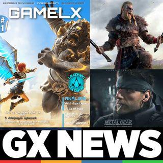 GX News 13 - Assassin's Creed Valhalla, Metal Gear Solid, Premios PlayStation, Ibai y Xbox Game Pass