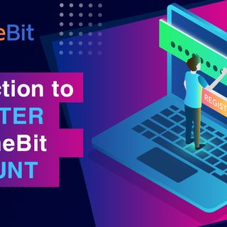 4 steps to register an account on timebi