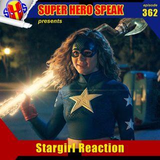#362: Stargirl Reaction