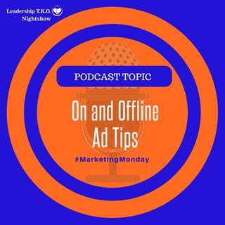 Marketing Monday - On and Offline Ad Tips | Lakeisha McKnight