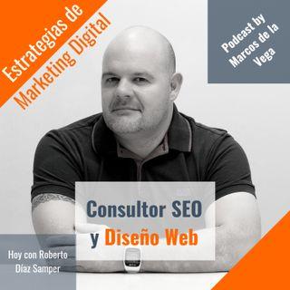 Consultor SEO y diseño web con Roberto Díaz