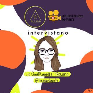 Intervista a Lia Quartapelle - Koliba Podcast Ep.4 in collaborazione con il Giffoni San Donà Experience
