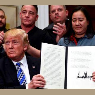 Trump confía en lograr un TLCAN