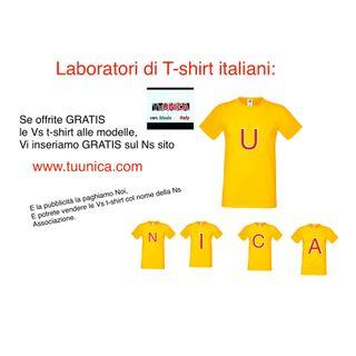 Cercasi Laboratori di Tshirt ITALIANI