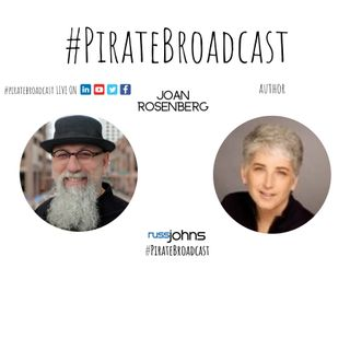 Catch Joan Rosenberg on the Piratebroadcast
