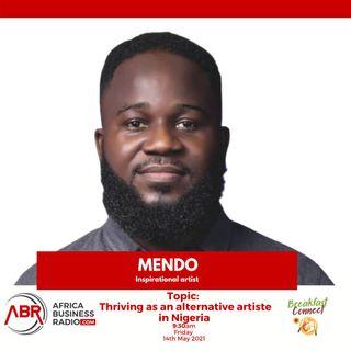 Thriving As An Alternative Artiste In Nigeria - Mendo