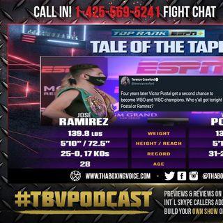 ☎️Jose Ramirez vs Viktor Postol🔥Live Fight Chat🥊For Ramirez's WBC/WBO 140LB Title❗️
