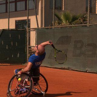 Antonio Cippo e la passione per il  Tennis in Carrozzina