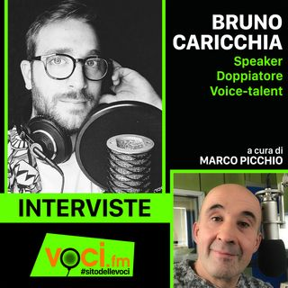 BRUNO CARICCHIA su VOCI.fm: - clicca PLAY e ascolta l'intervista