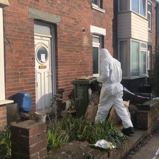 Murder arrest as twins among three elderly men found dead in Exeter