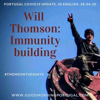 Building Immunity against Covid19 with Will Thomson