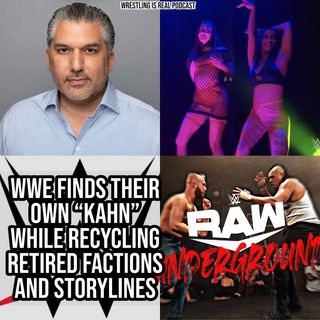 "WWE Finds Their Own ""Kahn"" While Recycling Retired Factions and Storylines KOP080620-550"