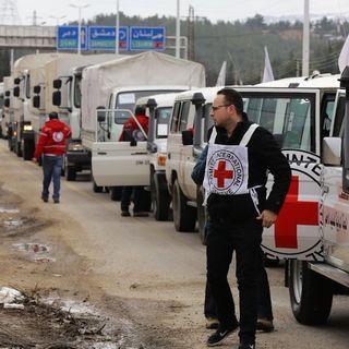 La città assediata di Madaya riceve gli aiuti umanitari