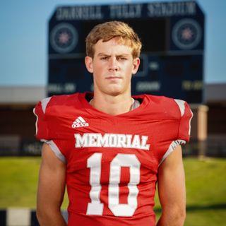 Memorial Mustang Football's Ben Dukes