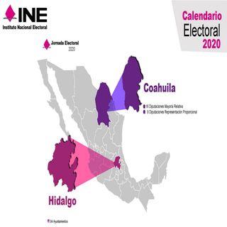 Este domingo se celebran elecciones en Hidalgo y Coahuila