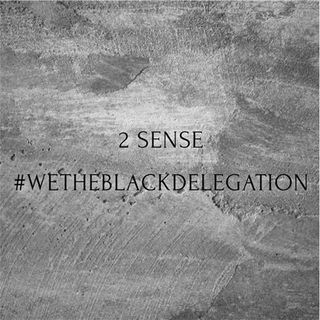 """2 Sense """"wetheblackdelegation"""""""