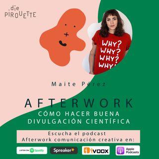 Ep 4. Cómo hacer buena divulgación científica con Maite Pérez de Eres Ciencia