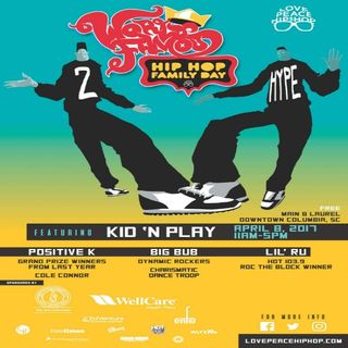 Love Peace & Hip Hop Day feat Kid n Play
