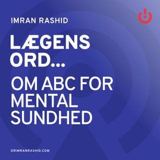 Om ABC for mental sundhed - Vibeke Koushede