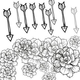 Convirtiendo las flechas en flores #sersiendo