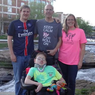 Dad to Dad 155 - Jeff Johnson of Anderson, SC, Father of Two, Including A Son With Hydrocephalus & Encephalocele