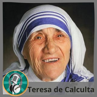 Sathia Cesini con Teresa de Calcuta