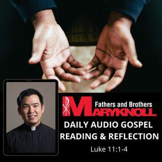 Wednesday of the Twenty-seventh Week in Ordinary Time, Luke 11:1-4
