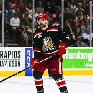 Dylan McIlrath - Griffins Defenseman & Alternate Captain (10/23/18)