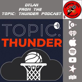 Dylan from the Topic Thunder Podcast
