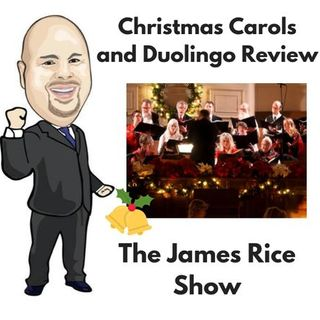 Episode 50 - Christmas Carol Idioms and a Review of Duolingo