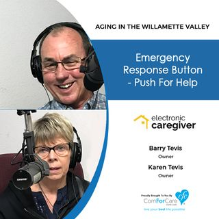5/1/18: Barry and Karen Tevis with The Electronic Caregiver Company | Emergency Response Button – Push for Help!