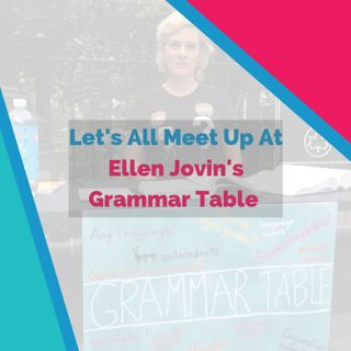 New York Language Stories At Ellen Jovin's Grammar Table