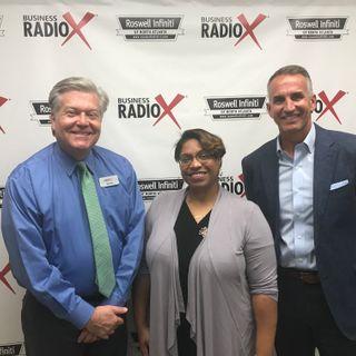 Jeff Rose, Leading Ed Solutions, and Rachel Davis, The Edge
