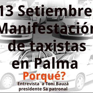 Manifestación del 13 de Septiembre en Palma