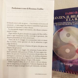 Fabio Bardon presenta il suo nuovo libro -Lo Zen Il Biliardo e la B.I.L.L.I.A-